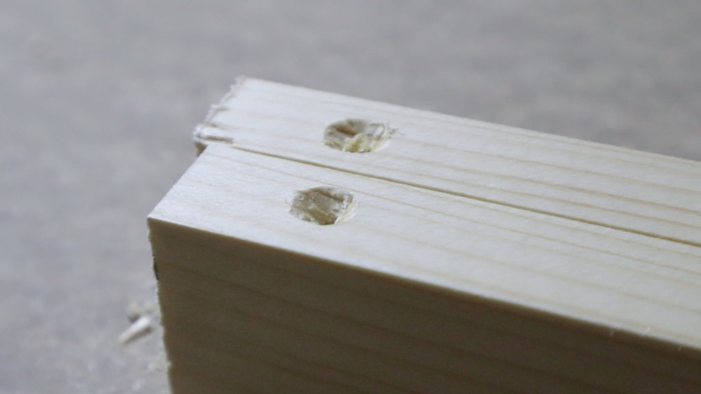 muestras de los agujeros avellanados para la cabeza del tornillo www.rufuster.com